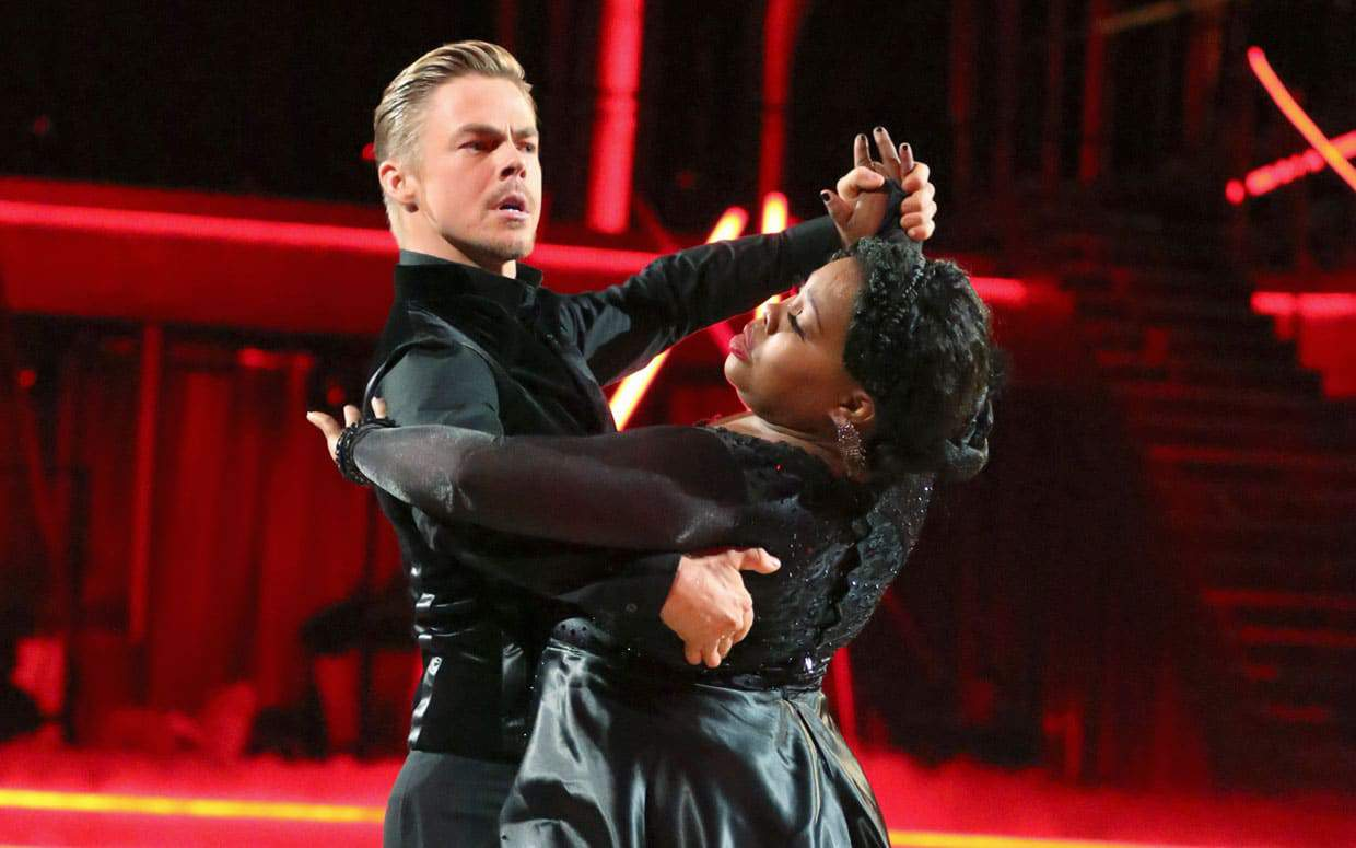 Amber Riley Dancing with the Stars