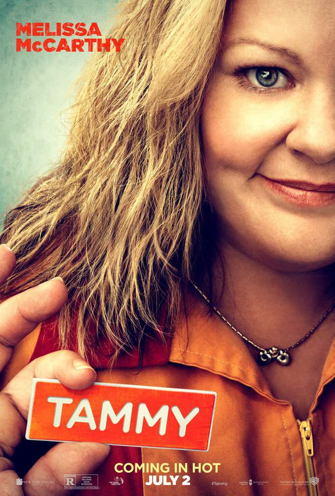 Plus size actress Melissa McCarthy stars in TAMMY