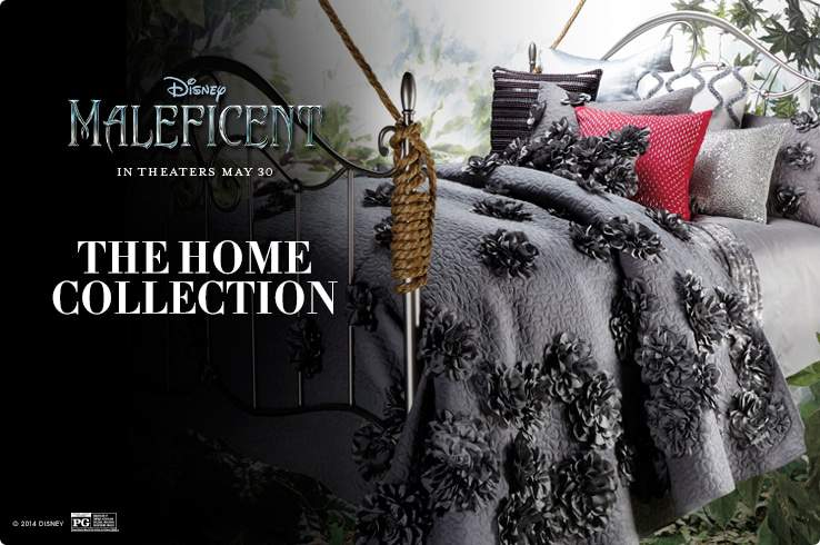 Maleficent Home Collection at HSN on The Curvy Fashionista