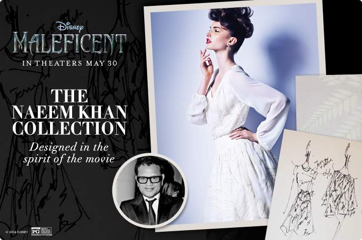 Maleficent Fashion Collection by Naeem Khan at HSN on The Curvy Fashionista
