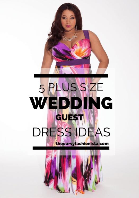 5 Plus Size Wedding Guest Dresses