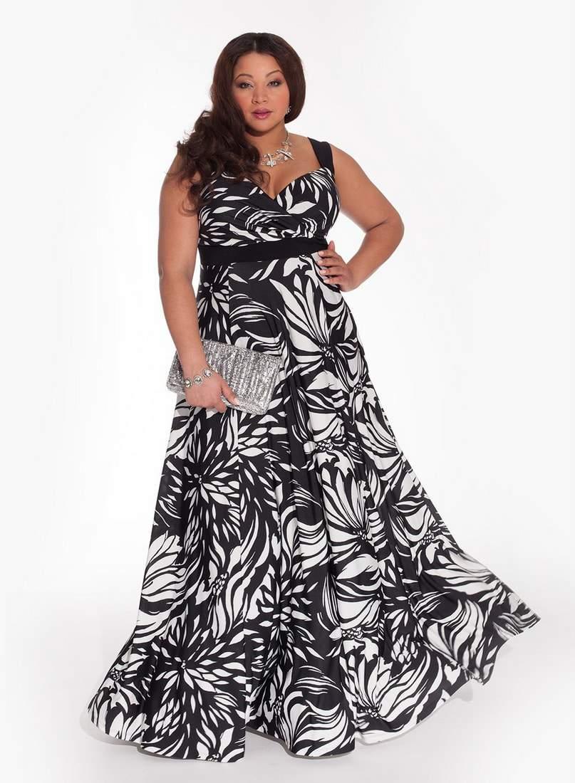 Maddalena Plus Size Maxi Dress by Igigi- Plus Size Maxi Dresses on The Curvy Fashionista
