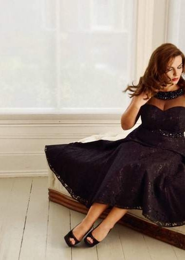 Viviana plus size eveningwear
