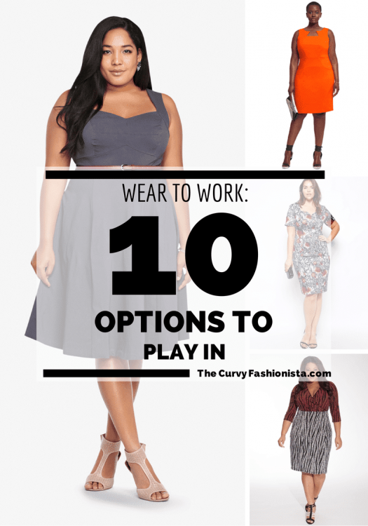 10 Plus Size Wear to Work Options To Play In