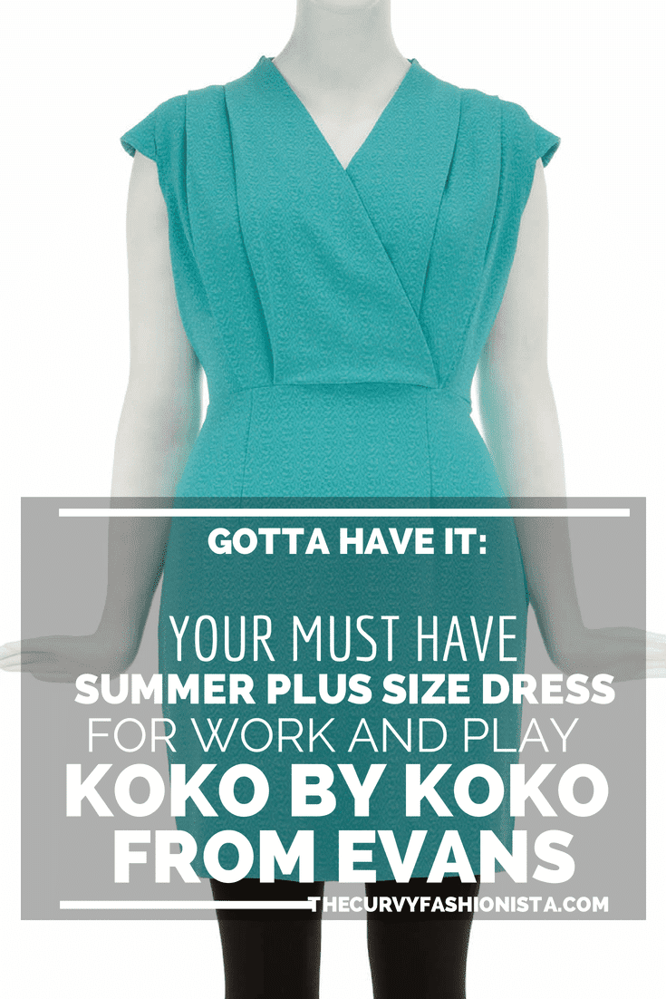 YOUR MUST HAVE SUMMER PLUS SIZE DRESS FOR WORK AND PLAY