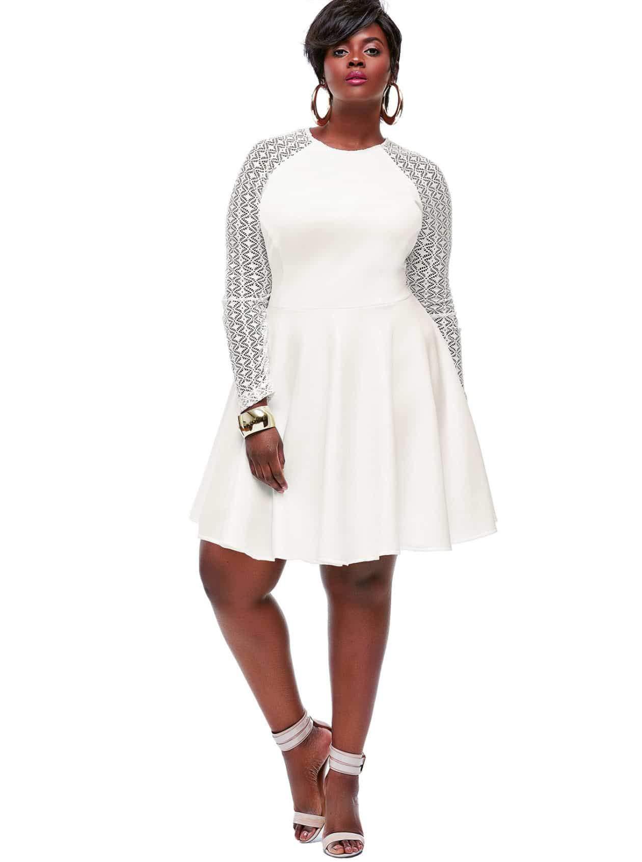 Monif C Plus Sizes- Spencer dress