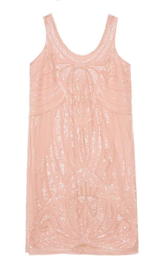 ASOS CURVE SALON Sequin Slip Dress 95