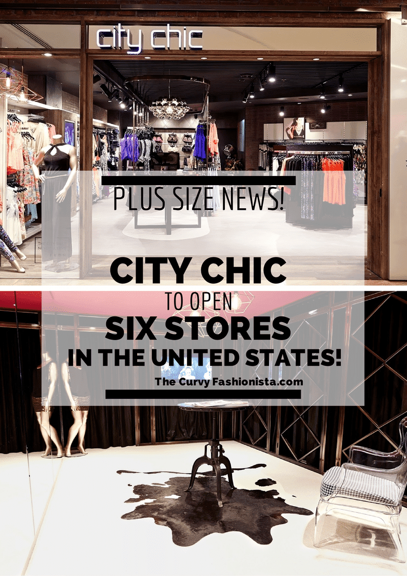 City Chic in the US with 6 Stores!