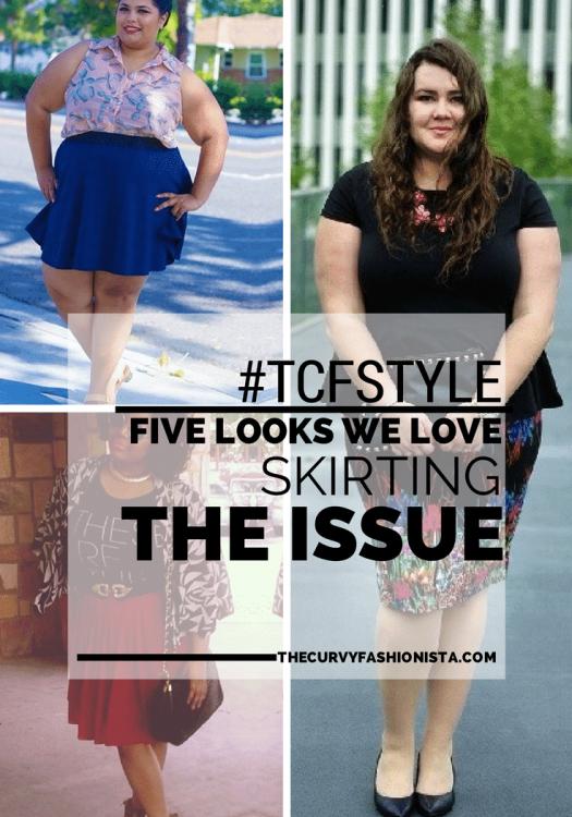 tcfstyle plus size skirts