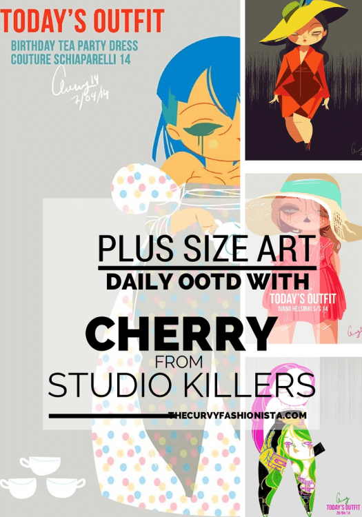 PLUS SIZE ART: Your Daily OOTD with Cherry from Studio Killers