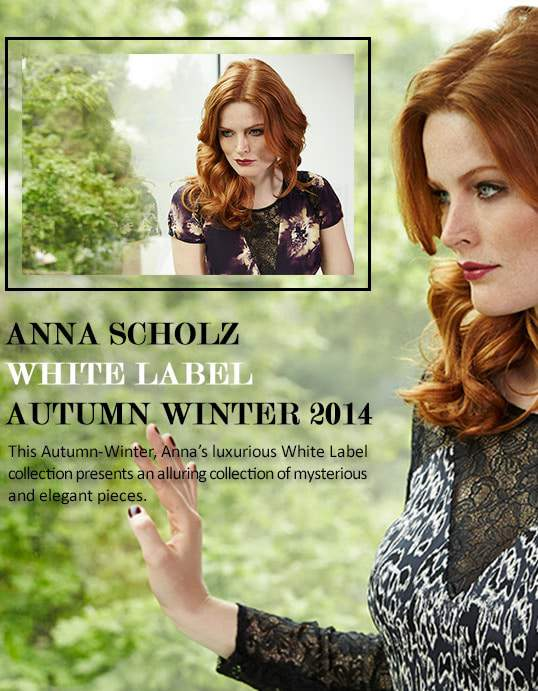 Anna Scholz White Label Look Book- Modern Muse
