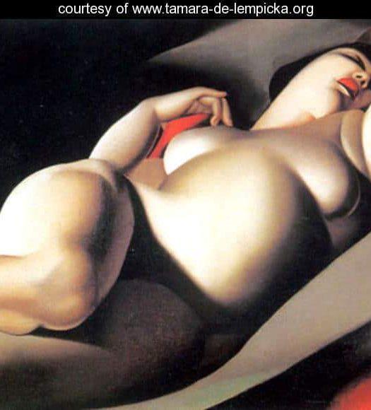 PLUS SIZE ART: La Belle Rafaela by Tamara de Lempicka and More