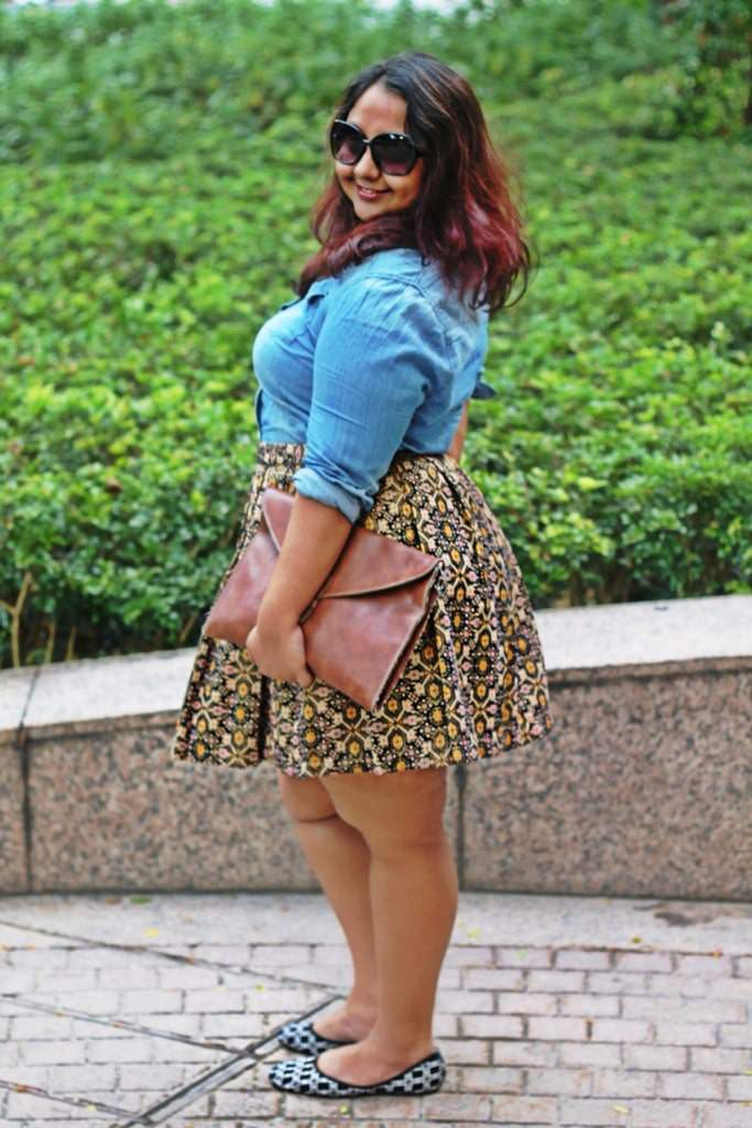Plus size blogger spotlight- aarti from Curves Become Her