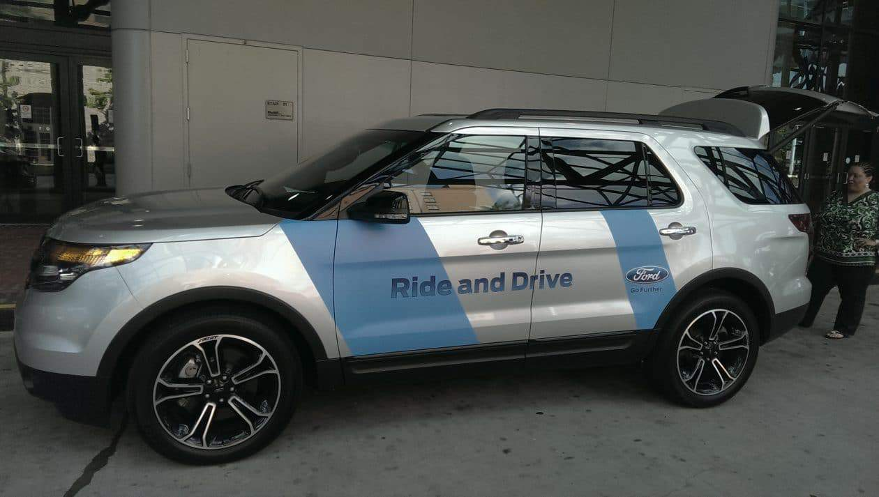 2014 #Essencefest Ford Ride and Drive