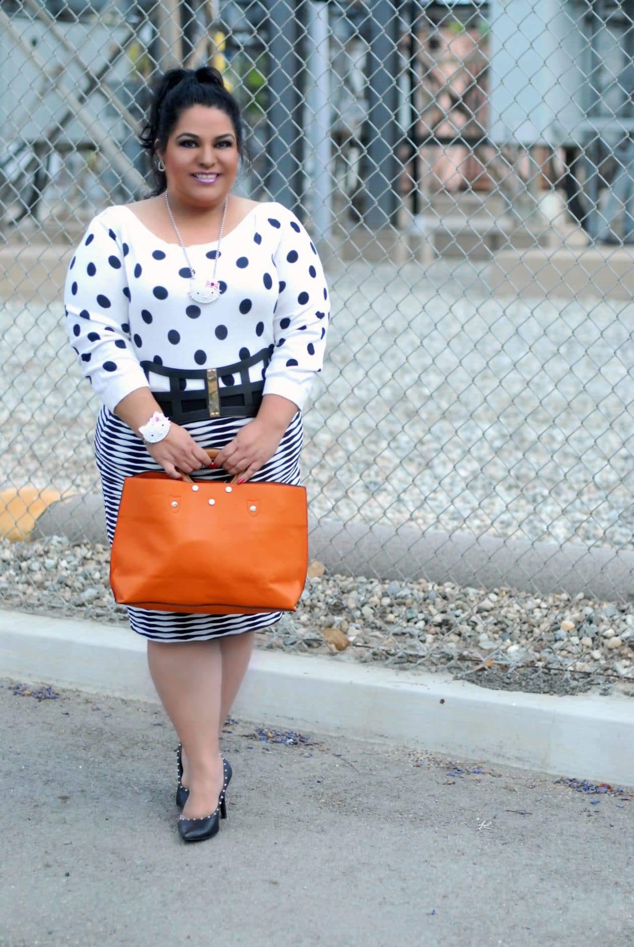 Plus size fashion blogger spotlight- MizLiz from BBW Generation