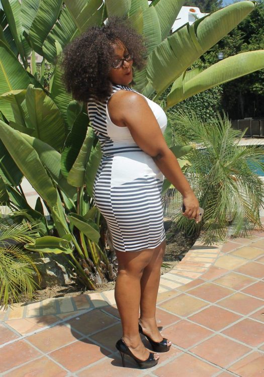 My Style: Brunching in Stripes in my Monif C Dress