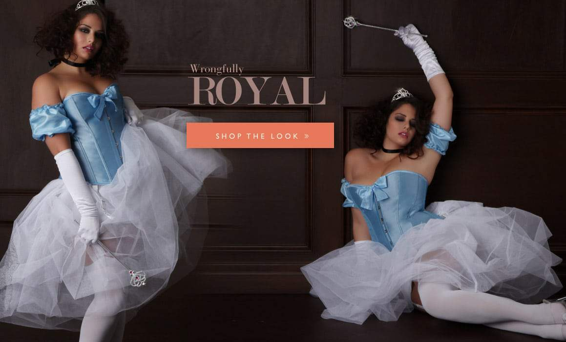 Hips and Curves Plus Size Halloween Look Book: wrongfully-royal