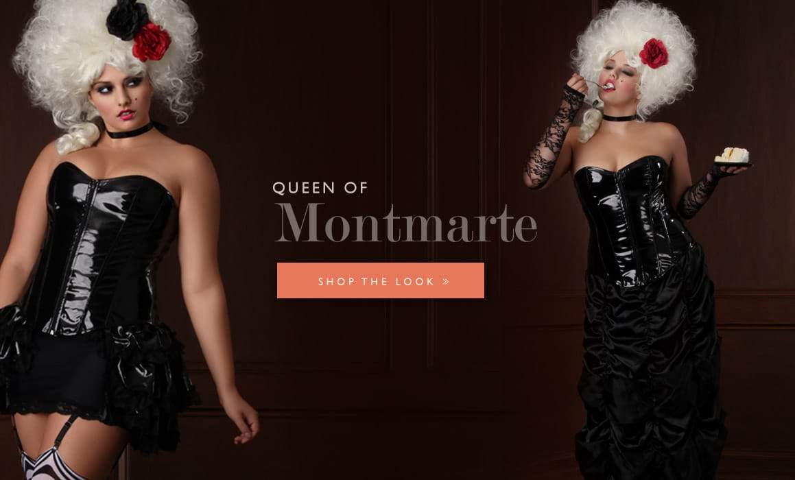 Hips and Curves Plus Size Halloween Look Book: queen-of-montmarte