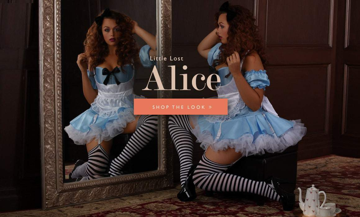 Hips and Curves Plus Size Halloween Look Book: little-lost-alice