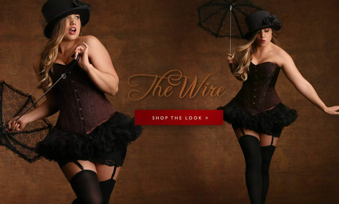 Hips and Curves Plus Size Halloween Look Book: high-wire