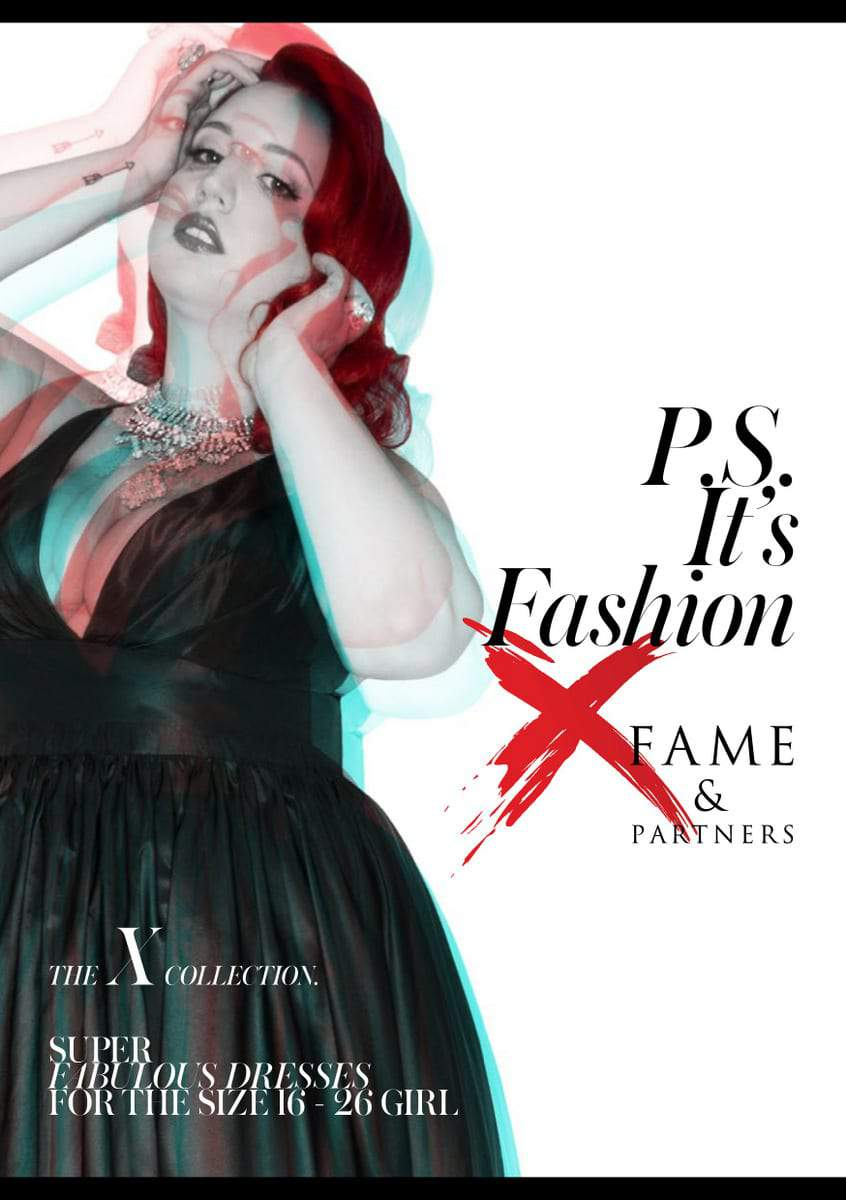 Fame and Partners and PS It's Fashion Collab for their Plus Size Dress Collection