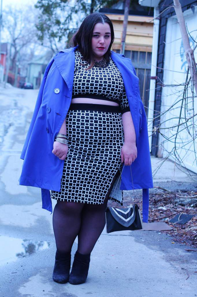 Plus Size Fashion Blogger Spotlight- Karen from Curvy Canadian