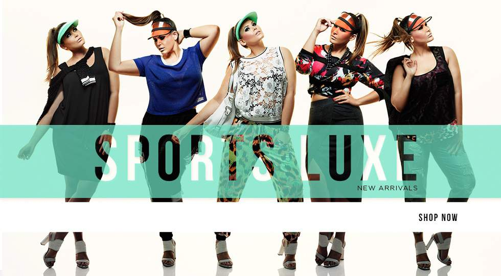 City Chic Plus Size SportsLuxe LookBook