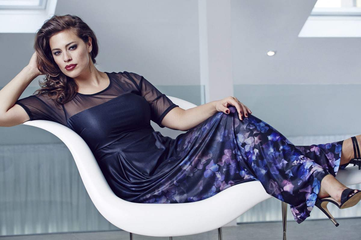 Plus Size Designer Anna Scholz for Simply Be Collection