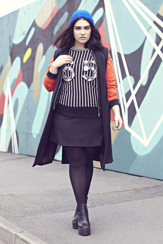Nadia Aboulhosn Boohoo Plus Size Fall look Book