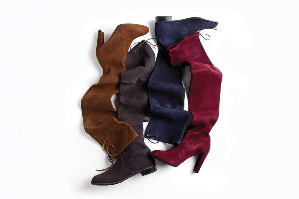 The Stuart Weitzman SW x YOU Custom Boots