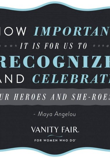The Vanity Fair Women Who Do Campaign- My Mother is a Woman who DOES