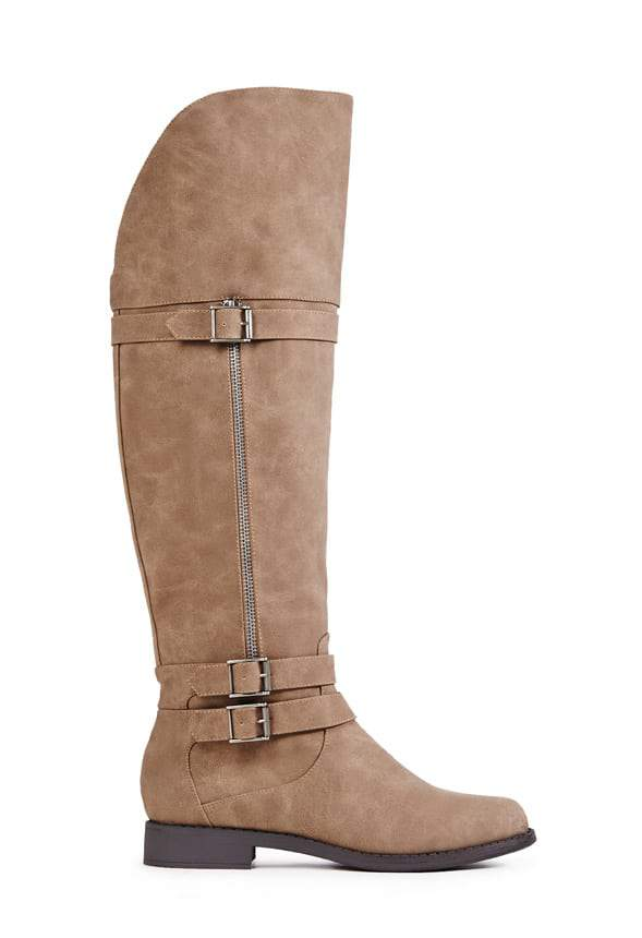 AYSLING WIDE CALF BOOT by Just Fab