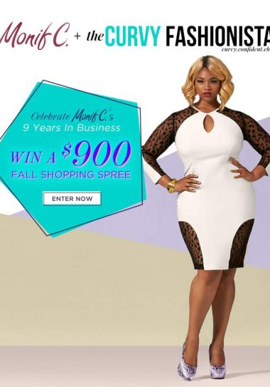 Happy NINE Years Monif C Plus Sizes! Celebrate with US! The Monif C and TCF Giveaway!