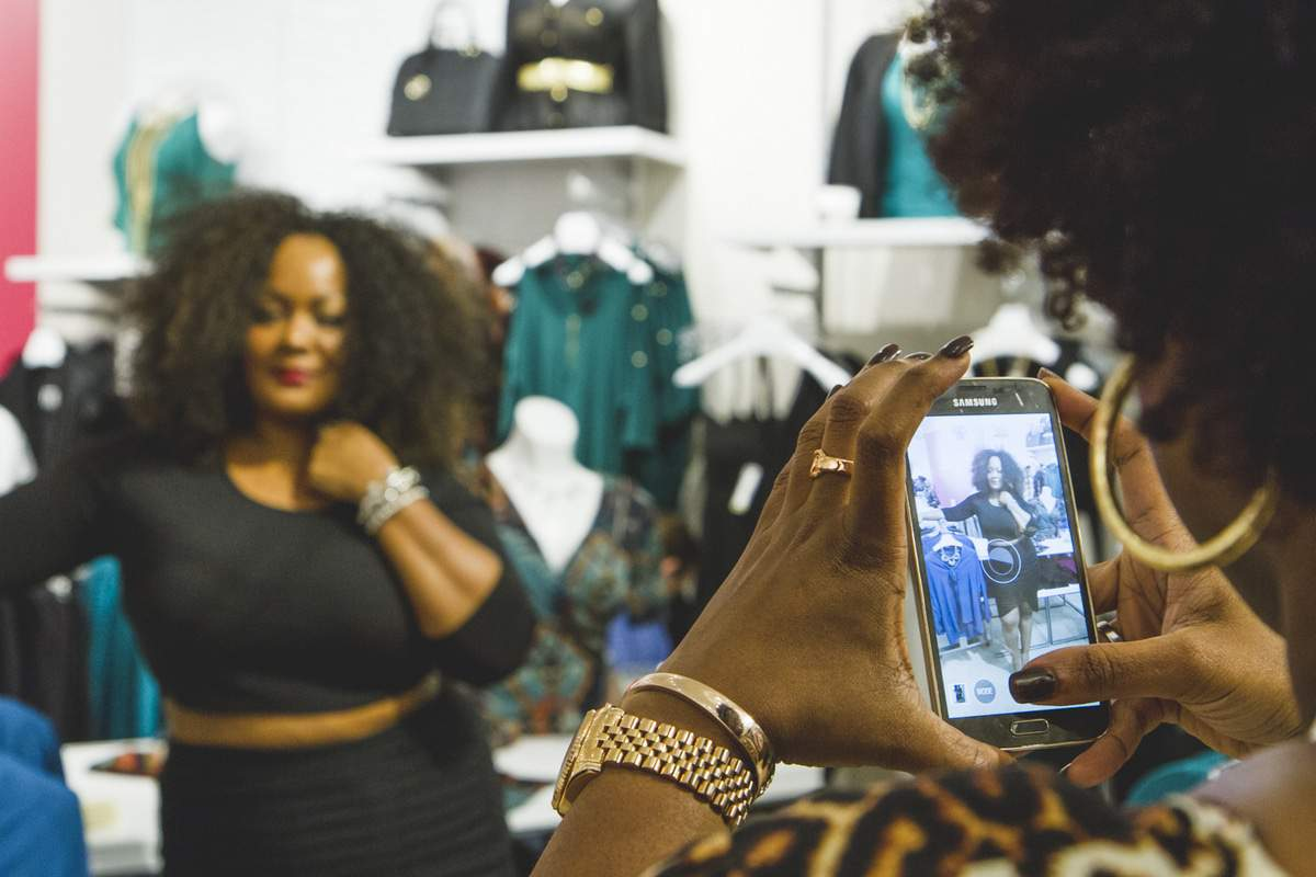 TC CObb Fashion to FIgure Grand Opening Hosted by Marie Denee