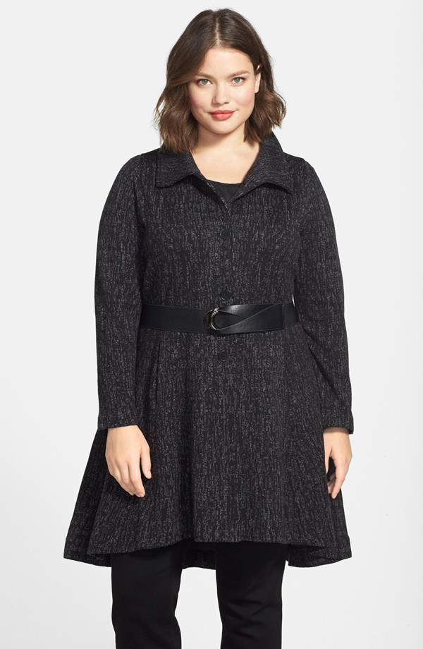 Nic and Zoe 'Windfall Twirl' Long Jacket at Nordstrom