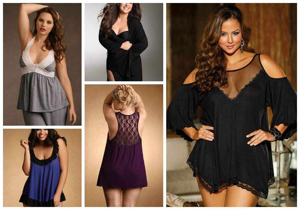 Hips and Curves Plus Size Lingerie- Lounge and Sleepwear Gifts