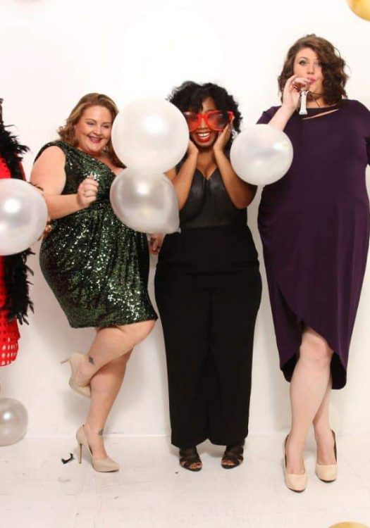 Plus Size Holiday Dress Style with Rent The Runway