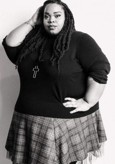 Fashion blogger Spotlight- Lucia of U Cant Wear That on The Curvy Fashionista