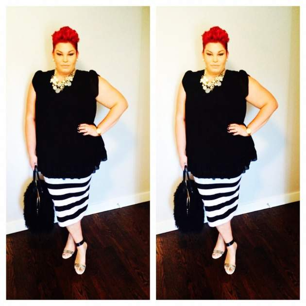 Top 20 Breakout Plus Size Personal Style Bloggers of 2014- Cloud 14+