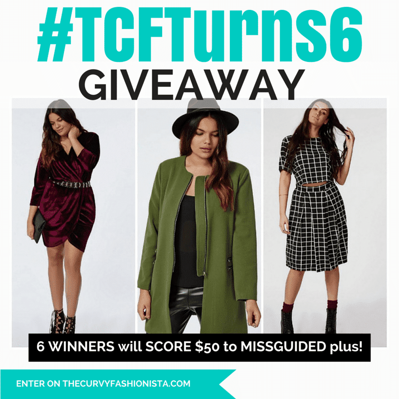 TCFTurns6 Giveaway: Styling from Across the Pond with MissGuided Plus