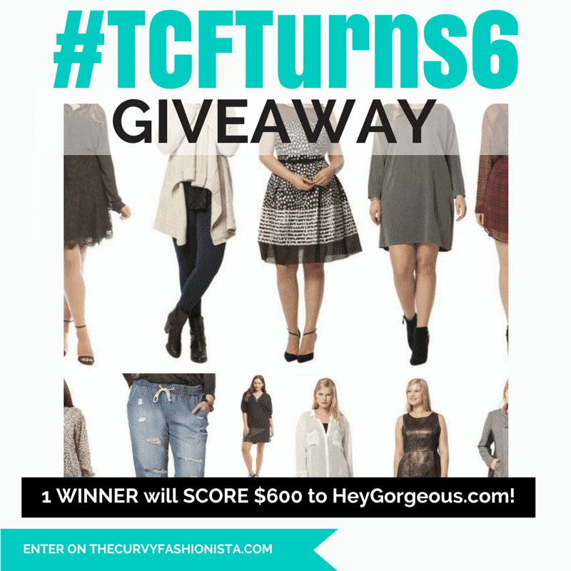 TCFTurns6 Giveaway with Hey Gorgeous
