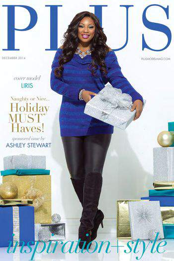 Madeline Jones of Plus Model Magazine December Issue