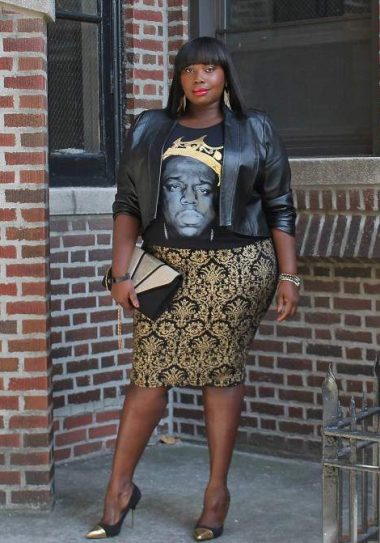 Alssa from Stylish CUrves on The Curvy Fashionista