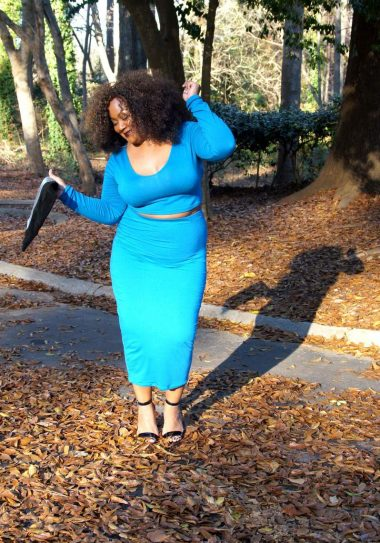 My Style: I'll Take a Two Piece and Some RebDolls- The Curvy Fashionista #TCFstyle