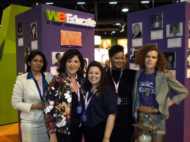 At the Women's Leadership Conference in California when I launched my online store