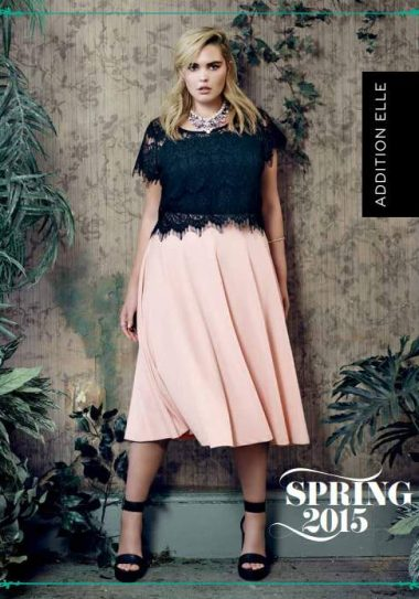 Plus Size Retailer Addition Elle Spring 2015