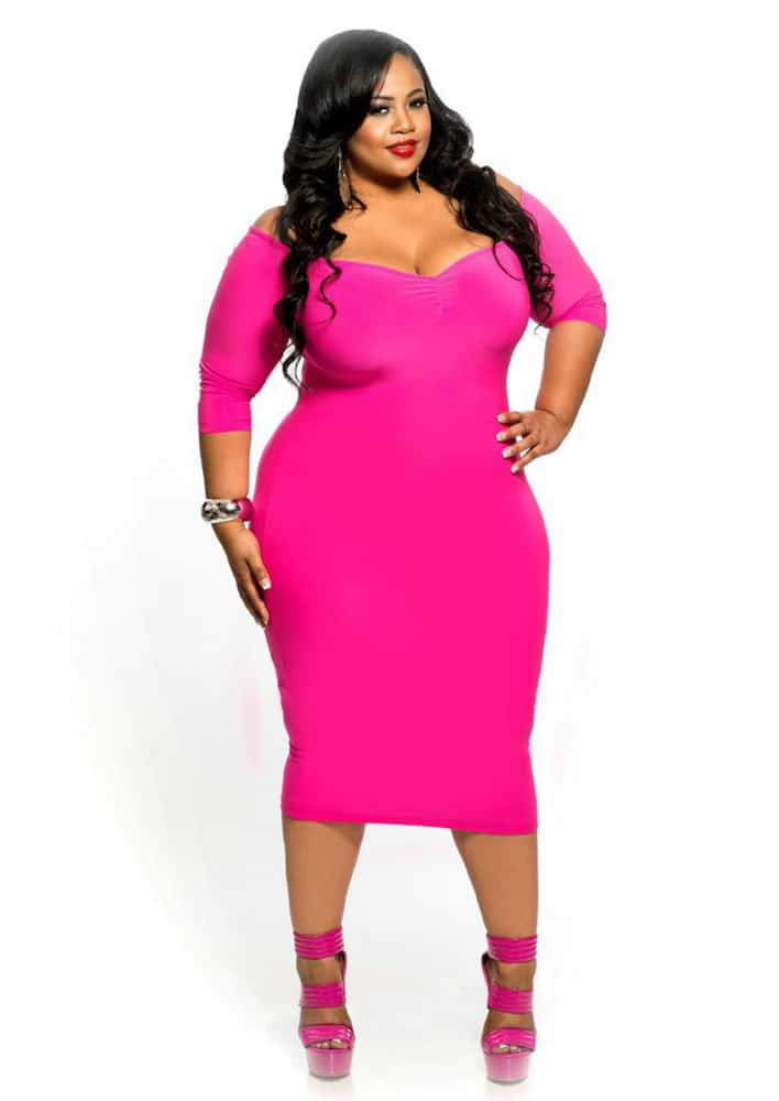 Chic And Curvy Valentine's Day Look Book