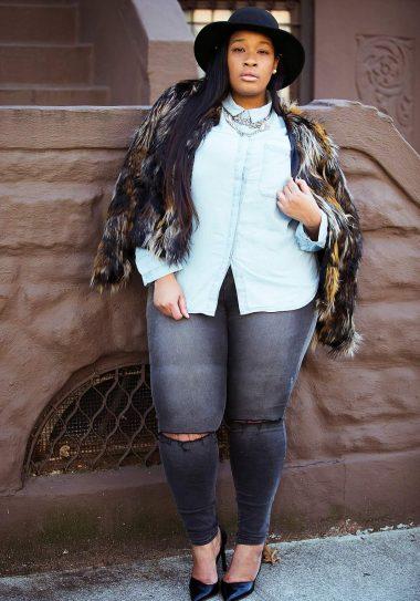 plus size blogger Essie Golden