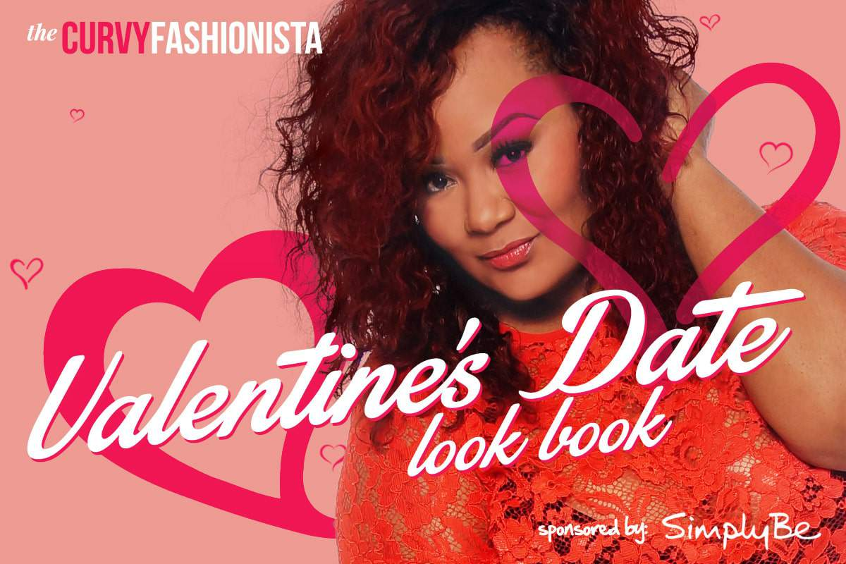 Valentine's Date Simply Be Plus Size Look Book