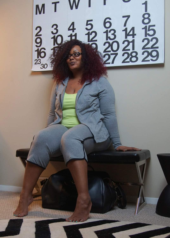 Blogger Off Duty with Rainbeau Curves: Welcome to Marie Denee's Office via @ TheCurvyFashionista.com